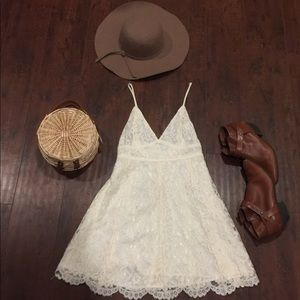 Urban Outfitters Lace Slip Dress Size Small/4
